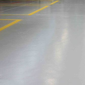 All-round floor coating portfolio for the sustainable finishing of concrete floors, walls and constructions.